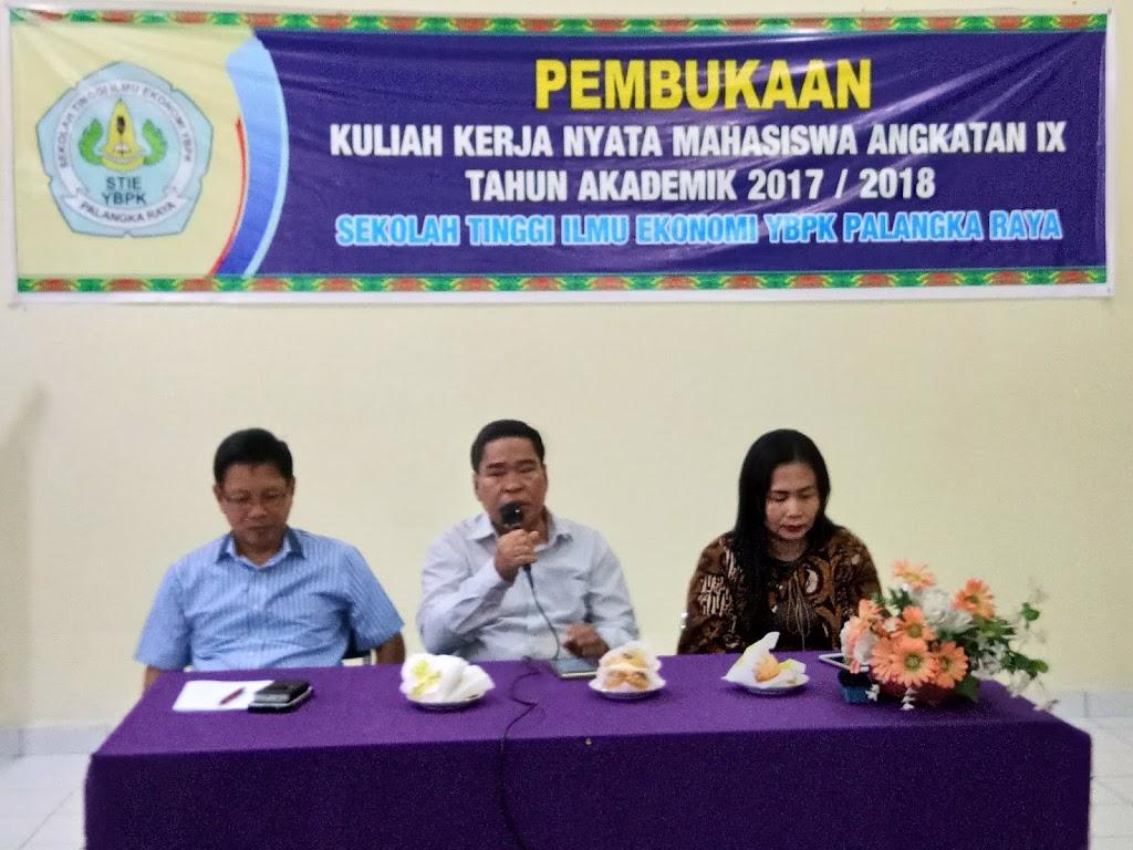 Acara Pembukaan Kuliah Kerja Nyata Angkatan IX TA 2017-2018