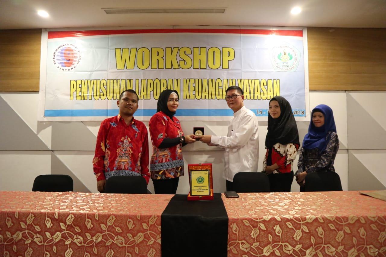 STIE YBPK Palangka Raya Memberikan Workshop Penyusunan Laporan Keuangan Yayasan