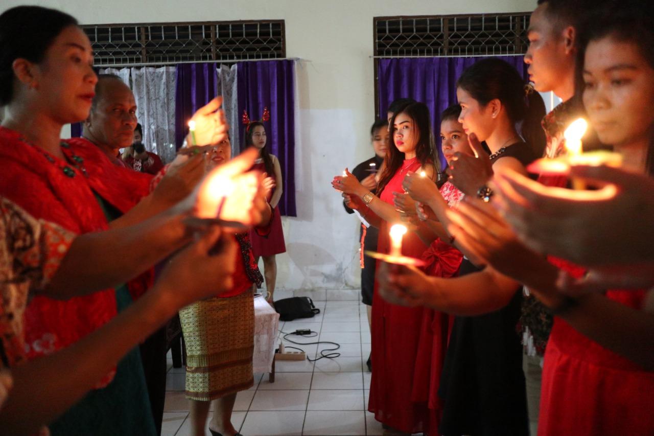 Ibadah Perayaan Hari Natal Tahun 2018 Di STIE YBPK Palangka Raya Berlangsung Khidmat