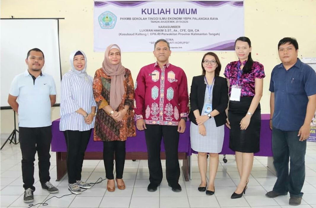 Kuliah Umum bersama Lukman Hakim S.ST., AK., CFE, QIA, CA dari Badan Pemeriksaan Keuangan (BPK)